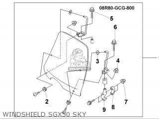 Honda SGX50S SKY 1999 (X) BELGIUM parts lists and schematics