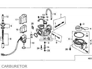 Honda Sh100 Scoopy 1996 (t) Spain parts list partsmanual