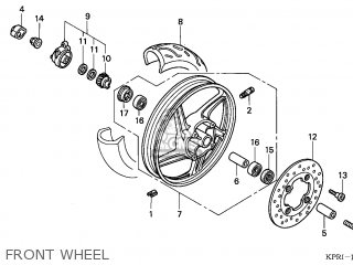 Honda SH125 2001 (1) ENGLAND parts lists and schematics
