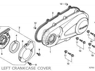 Honda SH125 2001 (1) FRANCE CMF KPH parts lists and schematics