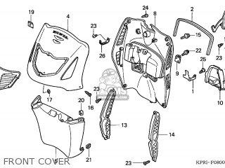 Honda SH125 2003 (3) EUROPEAN DIRECT SALES KPH parts lists