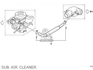 Honda SH125 2004 (4) EUROPEAN DIRECT SALES / TYPE 2 parts