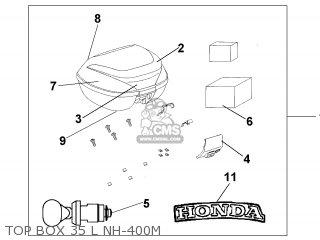 Honda SH125 2005 (5) ENGLAND MPH parts lists and schematics