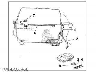 Honda SH150 2001 (1) EUROPEAN DIRECT SALES KPH parts lists