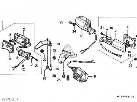 Honda Sh50 Scoopy 1993 (p) Netherlands Kph parts list