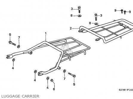 Honda Sh50 Scoopy 1995 (s) England Mkh parts list