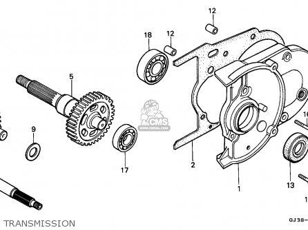 Honda Sh50d Scoopy 1993 (p) Italy Kph parts list