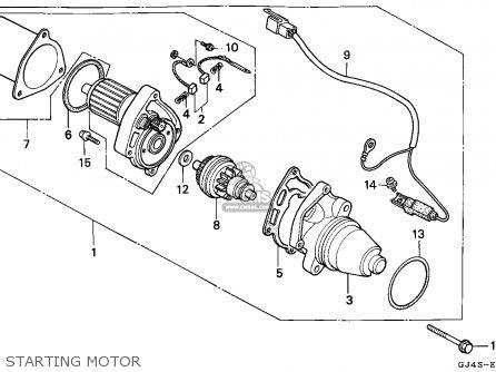 Honda Sh75 Scoopy 1989 Spain parts list partsmanual partsfiche