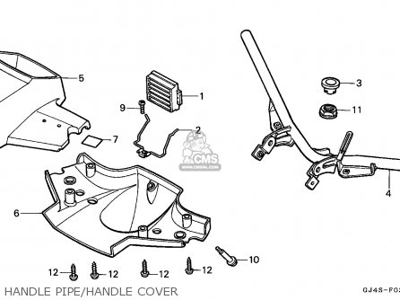 Honda SH75 SCOOPY 1991 (M) SPAIN parts lists and schematics