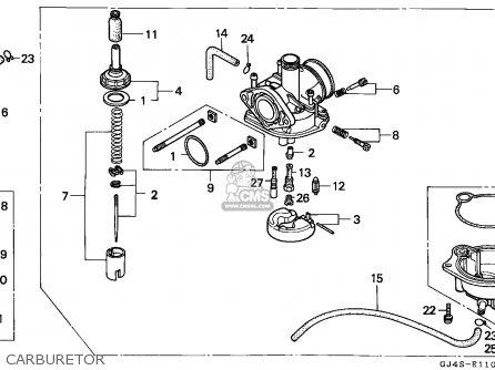 Honda Sh75 Scoopy 1991 Spain parts list partsmanual partsfiche