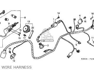 Honda SJ100 BALI 1998 (W) AUSTRALIA parts lists and schematics