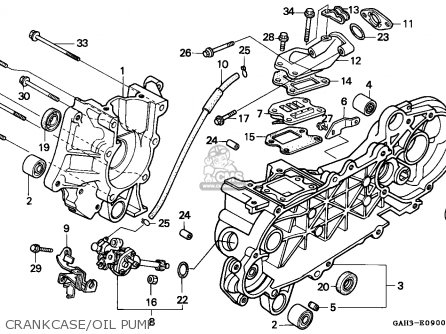 Honda Sk50m Dio 1992 Canada parts list partsmanual partsfiche