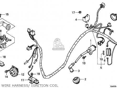 Honda Sk50m Dio 1993 Spain parts list partsmanual partsfiche