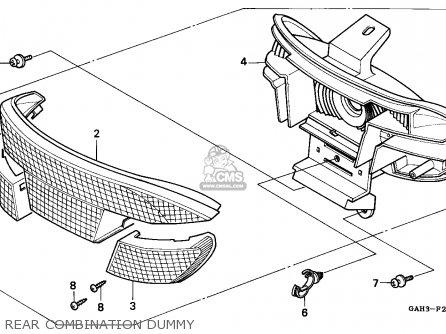 Honda Sk50m Dio 1996 (t) Australia parts list partsmanual