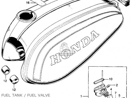 Honda SL125 MOTOSPORT 1973 K2 USA parts lists and schematics