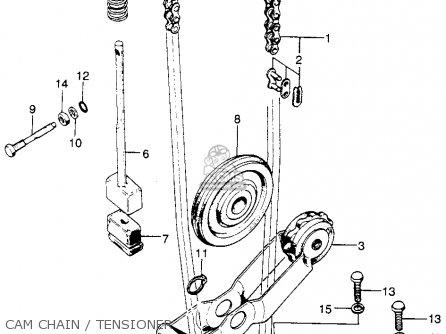 Honda Sl175 Motosport 175 K0 1970 Usa parts list