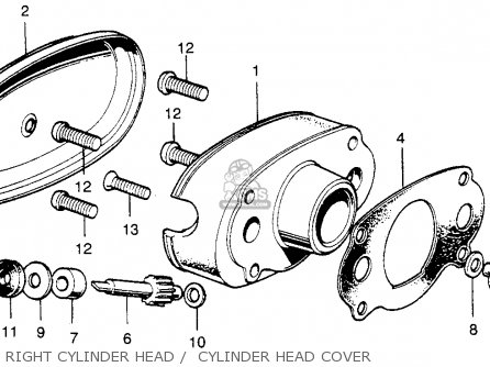 Honda Sl175 Motosport 175 K1 1971 Usa Cam Chain Tensioner