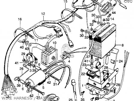 Honda SL175 MOTOSPORT 1970 K0 USA parts lists and schematics