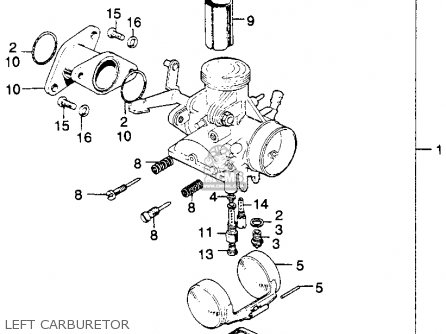 Honda Sl175 Motosport 1971 K1 Usa parts list partsmanual