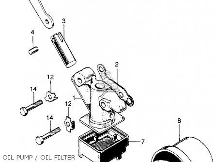 Honda Sl175 Motosport 1971 K1 Usa parts list partsmanual
