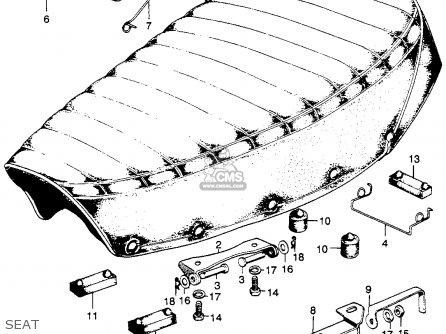 Honda SL175 MOTOSPORT 1971 K1 USA parts lists and schematics