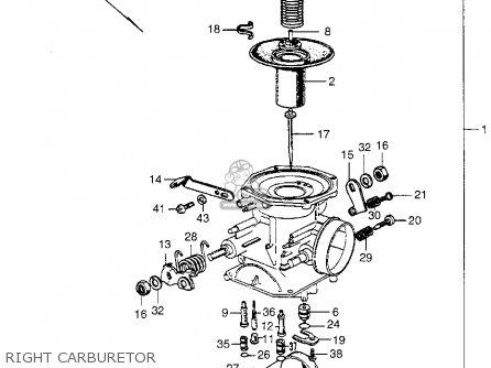 Honda SL350 MOTOSPORT 1969 K0 USA parts lists and schematics