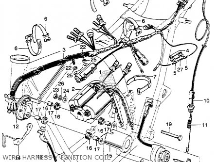 Cb350 Ignition Wiring Diagram CB350 Parts Diagram Wiring