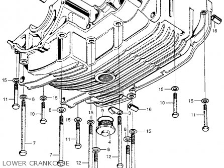 Honda Sl350 Motosport 350 1969 Sl350k0 Usa parts list