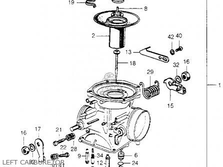 1971 Honda sl350 carburetor