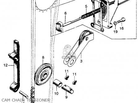 Honda Sl350 Motosport 350 K1 1970 Usa parts list