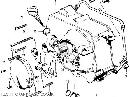 Honda SL70 MOTOSPORT 1971 K0 USA parts lists and schematics