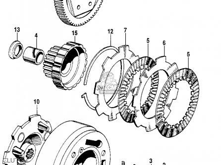 Honda Sl90 Motosport 90 1969 Usa parts list partsmanual