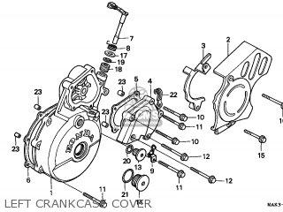 Honda SLR650 VIGOR 1997 (V) GERMANY / KPH parts lists and