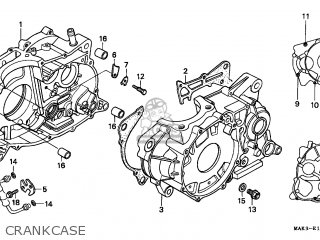 Honda Slr650 Vigor 1998 (w) Germany / Kph 34p parts list