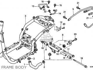Honda Srx50 Shadow 1998 Portugal parts list partsmanual partsfiche