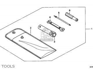 Honda SRX50 SHADOW 1998 (W) FRANCE CMF parts lists and