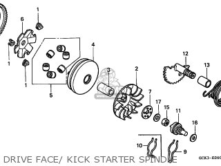 Honda SRX50 SHADOW 1998 (W) ITALY parts lists and schematics