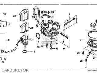 Honda Srx90 Shadow 1998 Spain parts list partsmanual