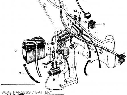 Honda SS125A SUPER SPORT 1967 USA parts lists and schematics