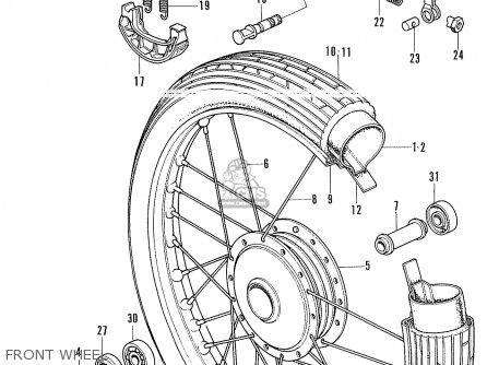 Honda Ss50-d Germany parts list partsmanual partsfiche