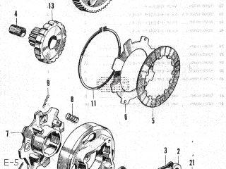 Honda SS50 K1 JAPAN parts lists and schematics