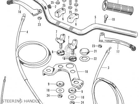 Honda Ss50e General Export parts list partsmanual partsfiche
