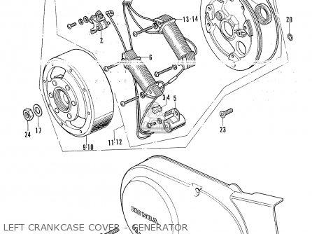 Honda Ss50g Germany (130515) parts list partsmanual partsfiche