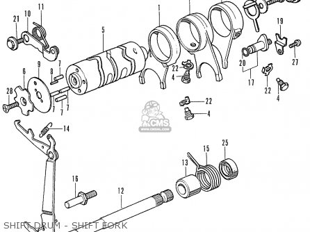 Honda SS50M K1 GENERAL EXPORT parts lists and schematics