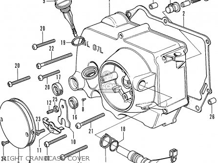 1964 Honda 50 Wiring Diagrams Honda Sl70 Wiring Diagram