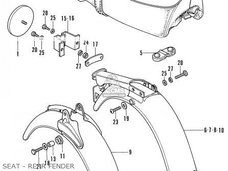 Honda Ss50mg Germany parts list partsmanual partsfiche