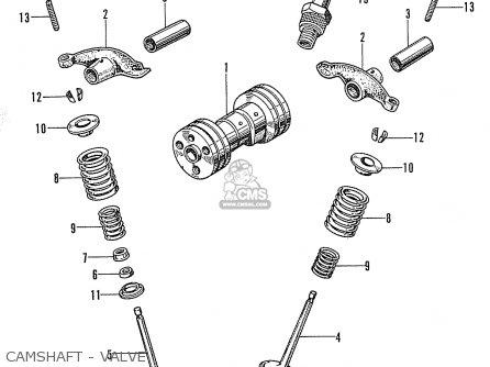 Honda Ss50z England parts list partsmanual partsfiche