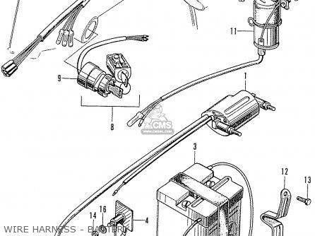 Honda SS50Z ENGLAND parts lists and schematics