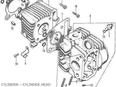 Honda SS50Z K1 AUSTRIA parts lists and schematics