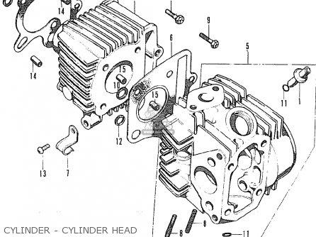 Honda SS50Z K1 BELGIUM parts lists and schematics
